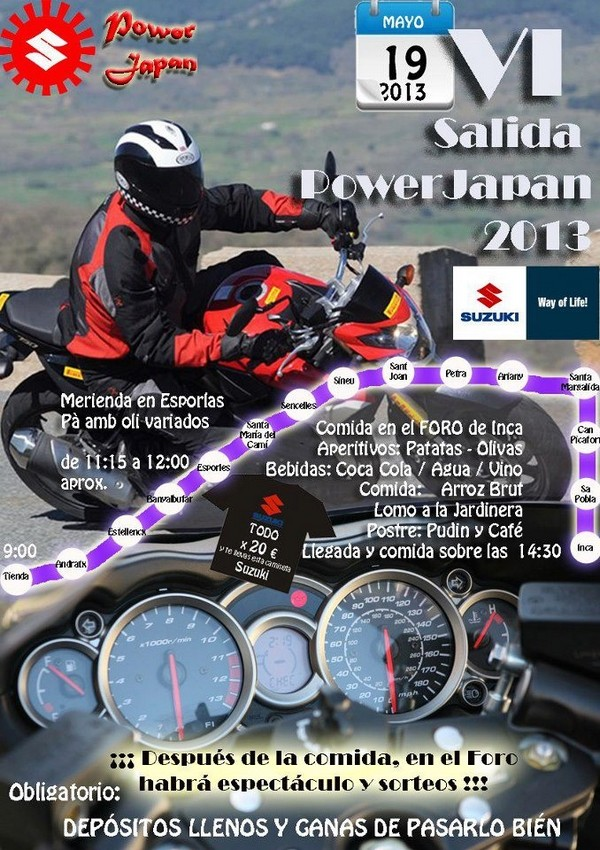 VI SALIDA POWER JAPAN 2013 Powerj12