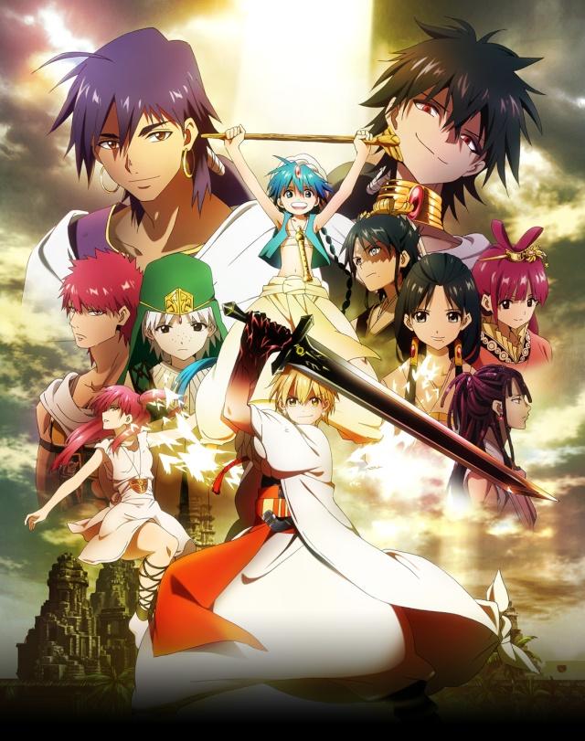 Magi - The Labyrinth of Magic [Manga & Anime] Magi_t12
