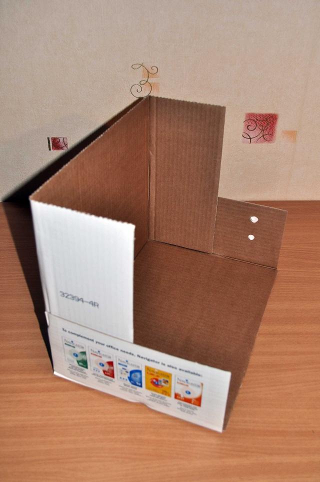 Mini studio photo  ou boite à lumière (réalisation) Carton11