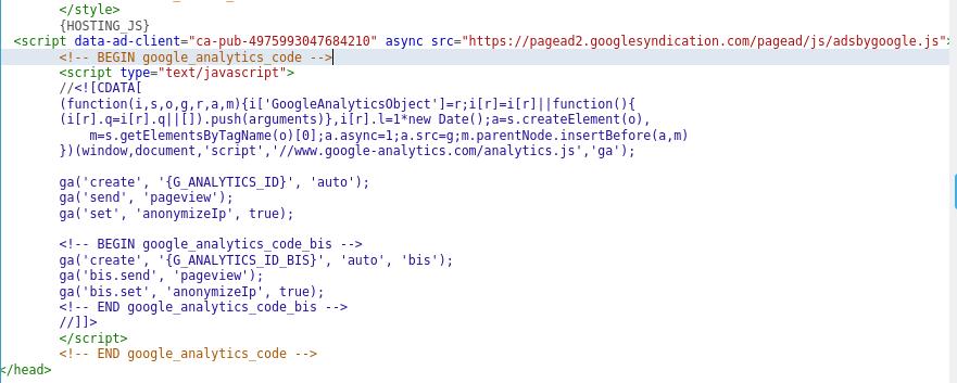 caricare il file ads.txt - Errore di google Screen10