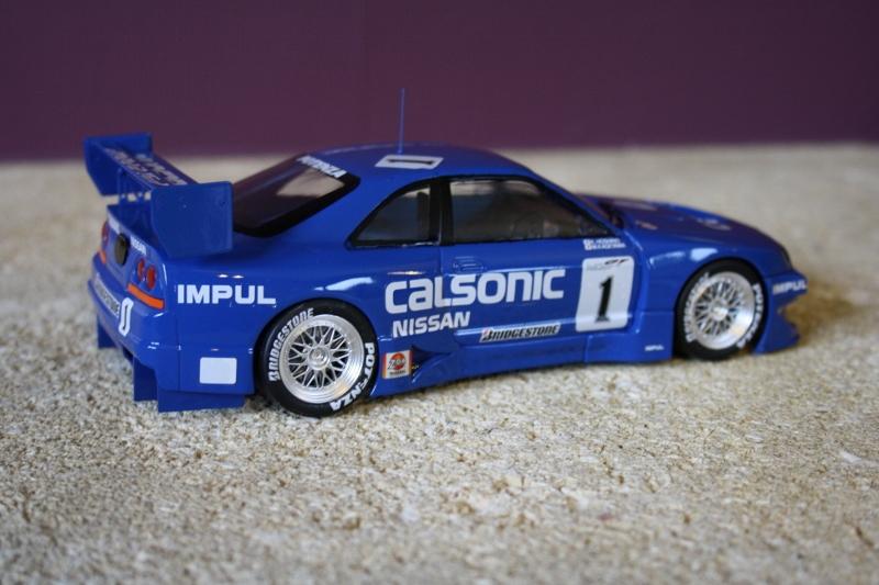 Nissan Skyline Calsonic GT-T 1993 1/24 Tamiya Img_9317