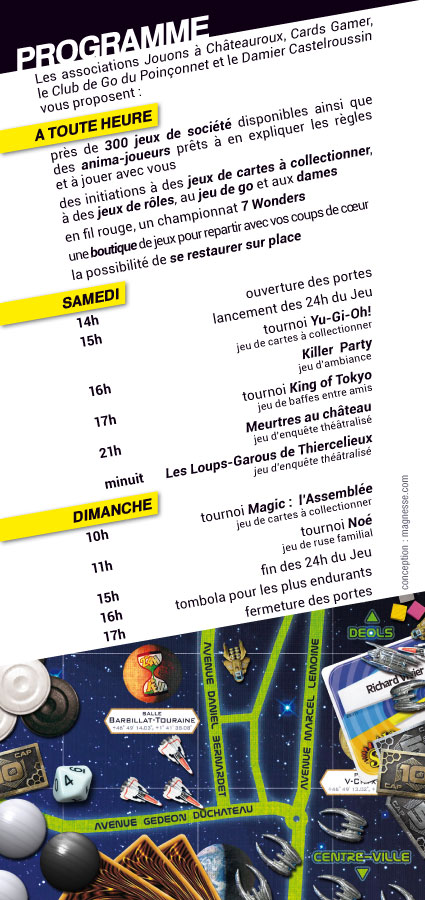 Les 24h du jeu 2013 - supports de com' Flyer-12