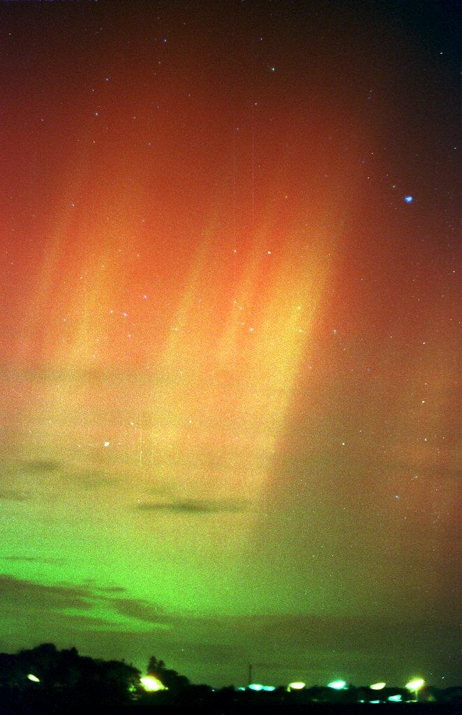 Les aurores boréales, c'est pour cette nuit! Aurore10