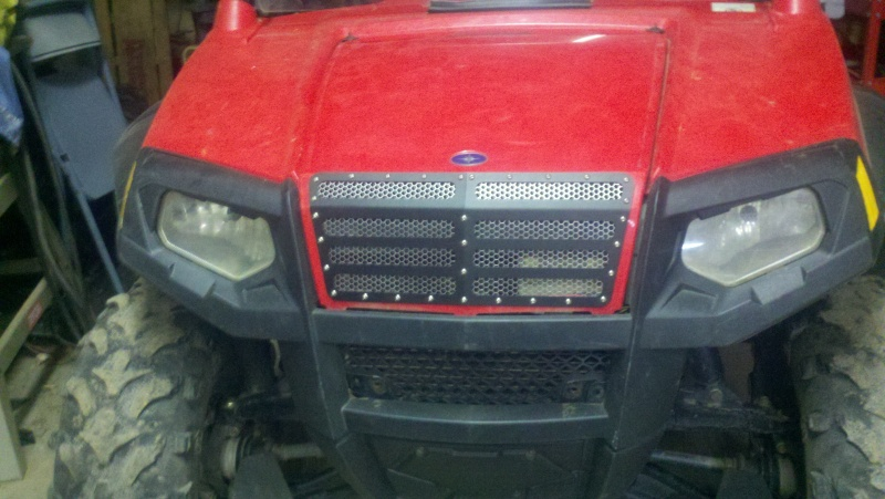 Red Solo Truck new grill 2013-010