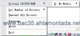 شرح وتحميل برنامج MagicDisc  لتشغيل أقراص CD/DVD 211
