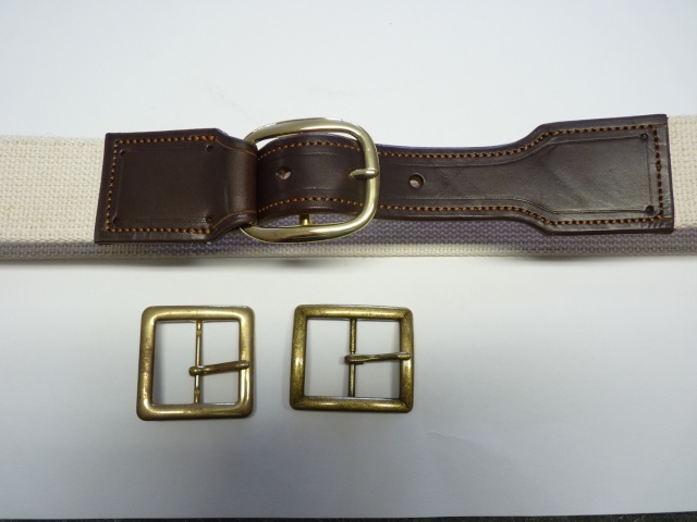 CANVAS BELT & RANGER'S HOLSTER by SLYE P1120813