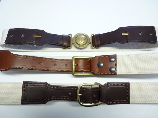 CANVAS BELT & RANGER'S HOLSTER by SLYE P1120815