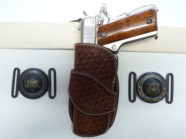CANVAS BELT & RANGER'S HOLSTER by SLYE P1120819