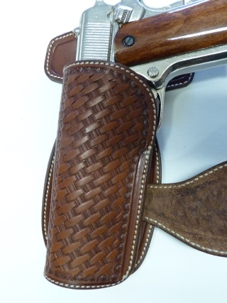 CANVAS BELT & RANGER'S HOLSTER by SLYE P1120822