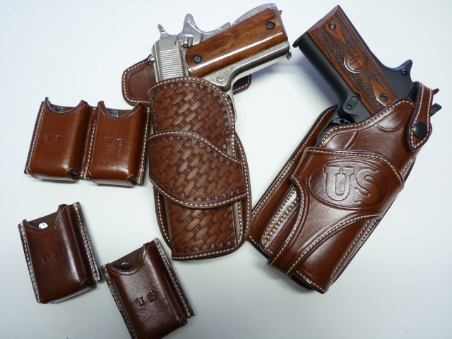 CANVAS BELT & RANGER'S HOLSTER by SLYE P1120824
