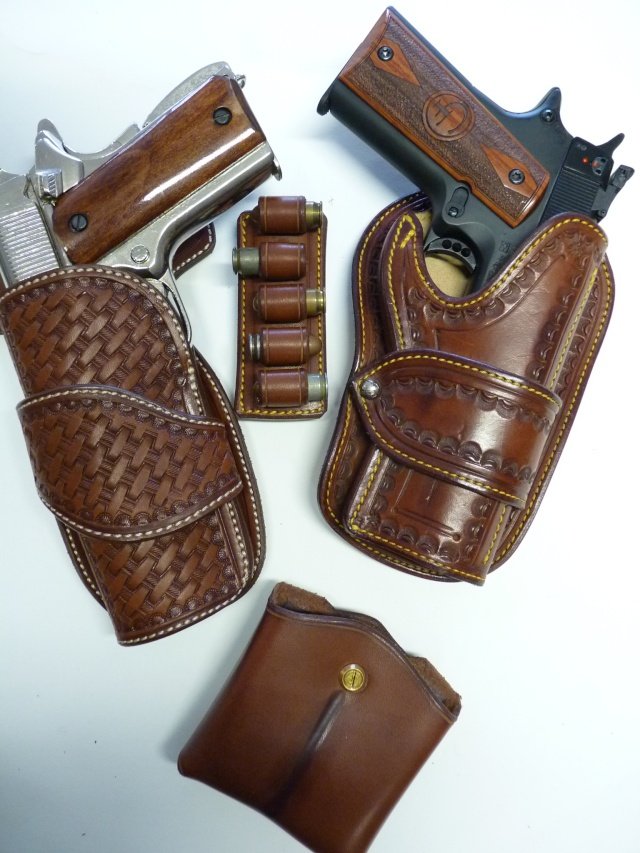 CANVAS BELT & RANGER'S HOLSTER by SLYE P1120826