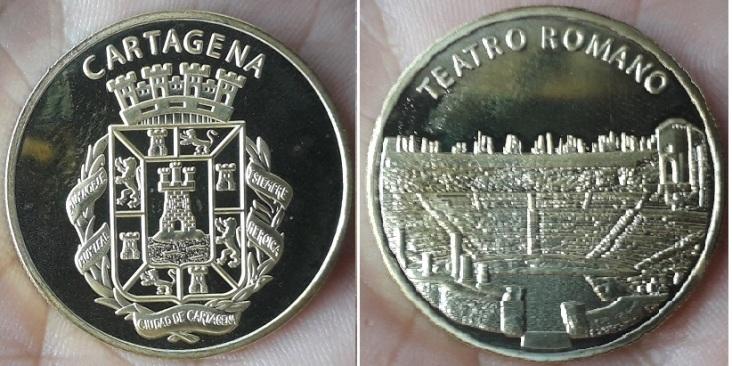 Médailles Espagnoles Cartag10