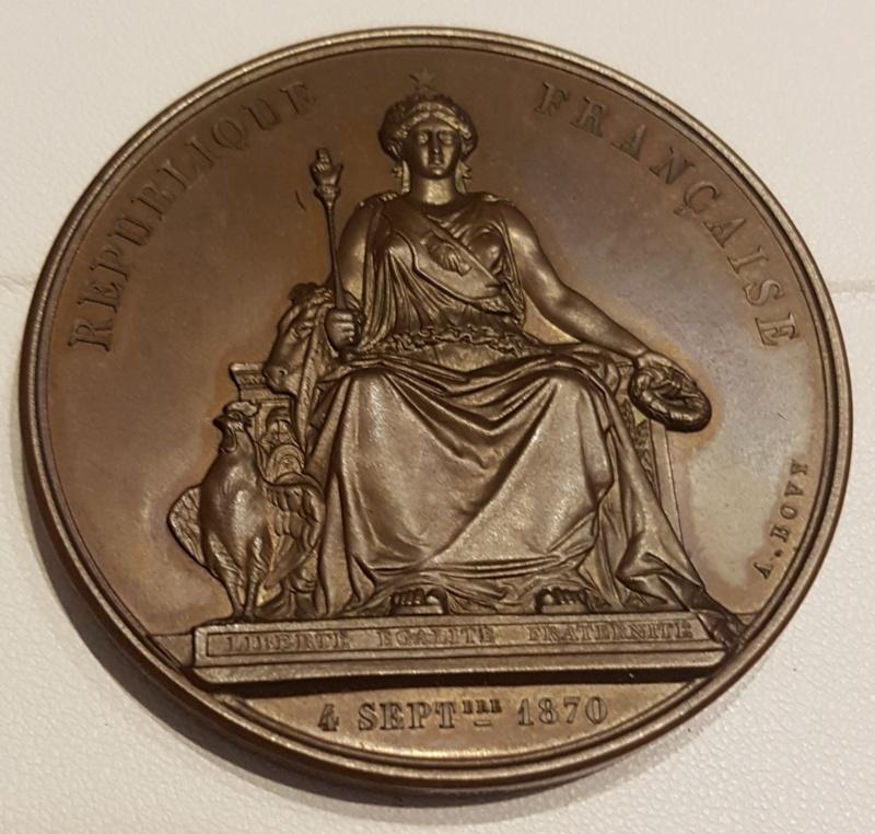 Medaille siège de Paris 1870 -1871 20201127