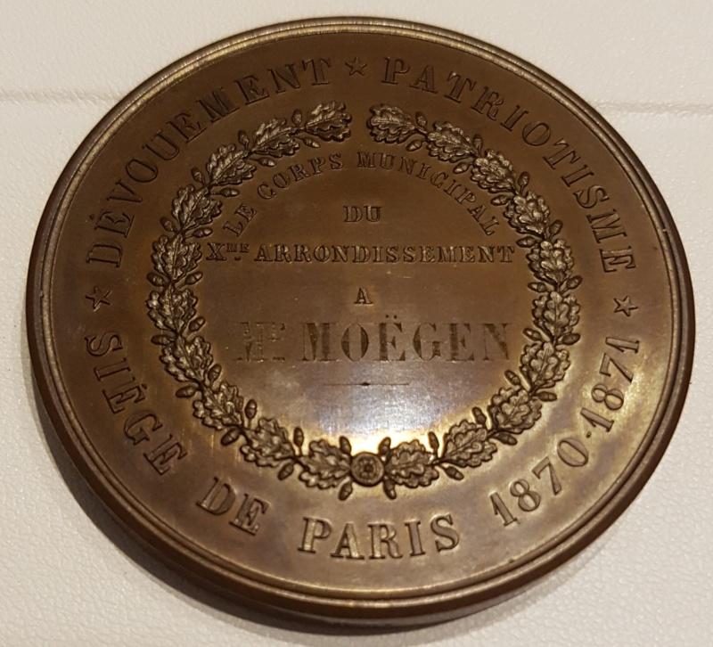 Medaille siège de Paris 1870 -1871 20201128