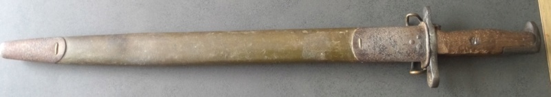 baionnette US M 1905,fusil M1903 Springfield, M1 Garand Win_1106