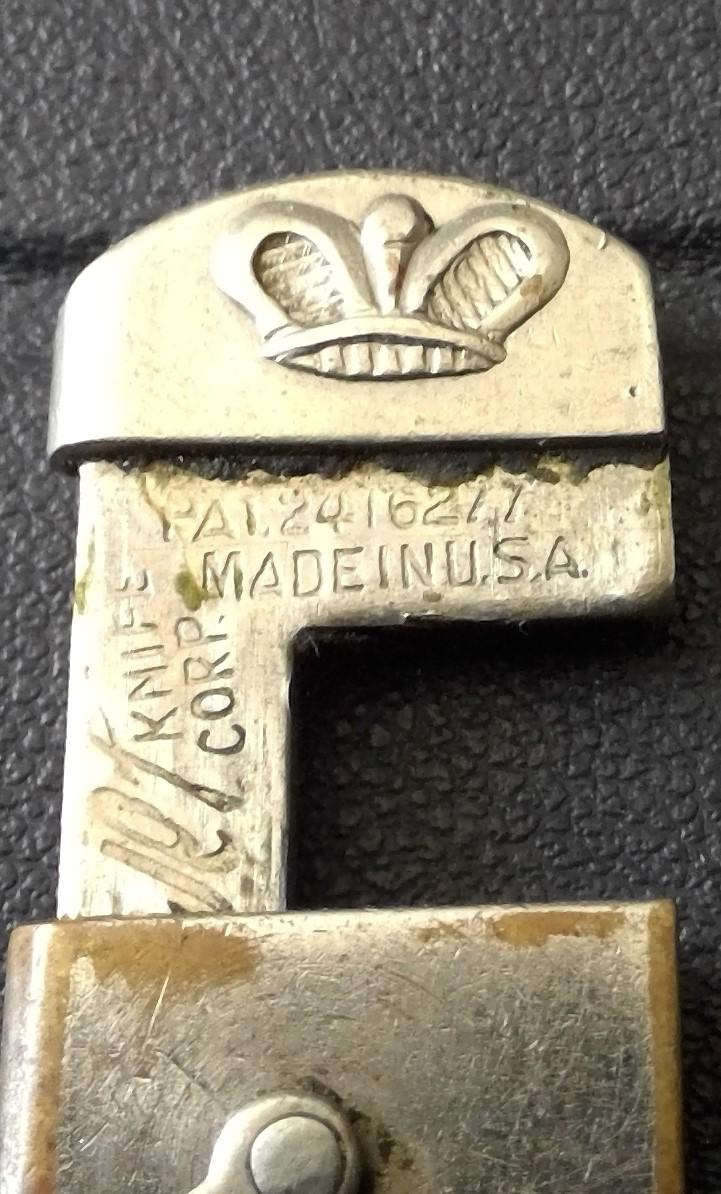 couteau de poche US a identifier Win_1513