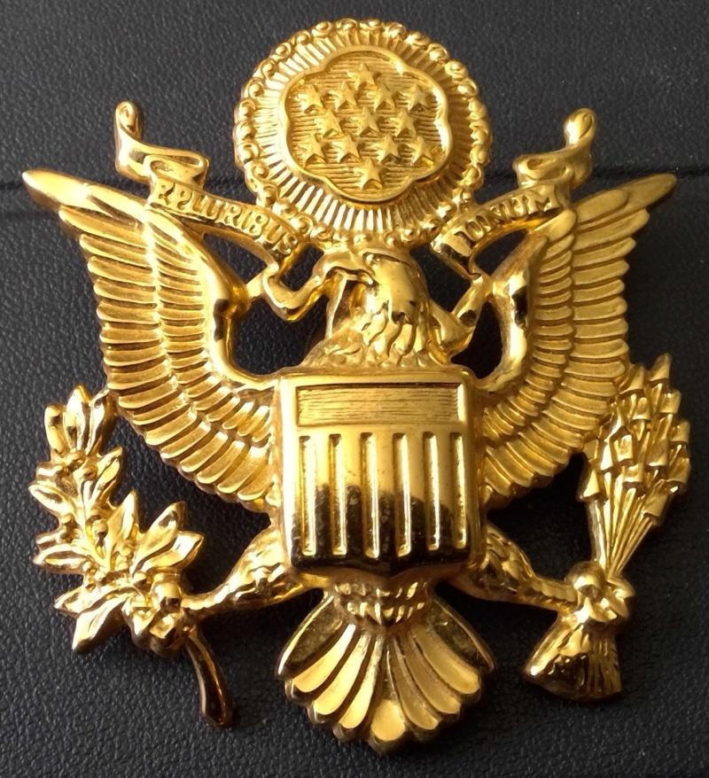 insigne de casquette d officier US Win_1516