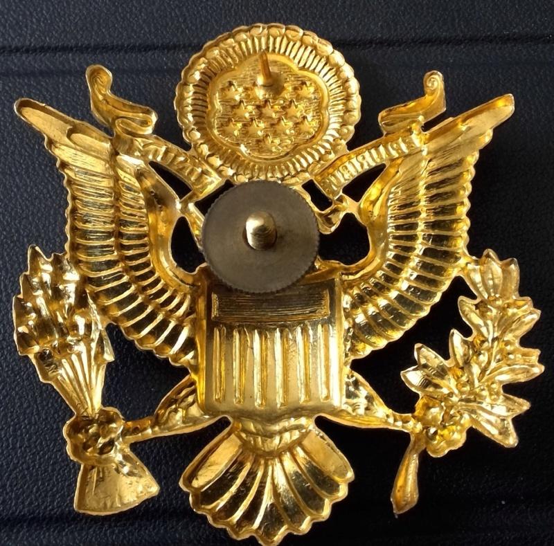 insigne de casquette d officier US Win_1517