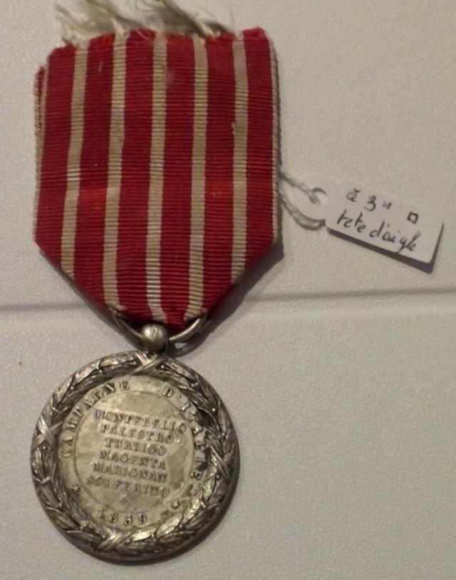 Médaille 1859 campagne d'Italie en pendentif originale ? Win_1791