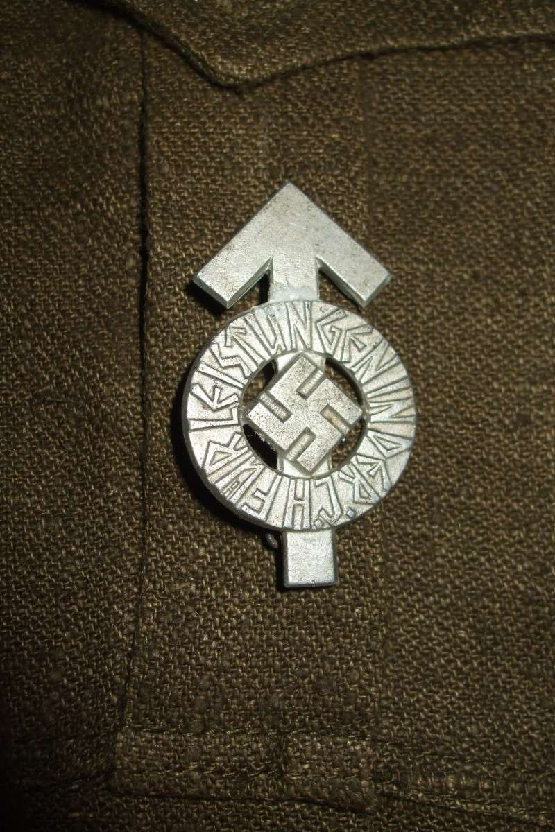 """Drell-Jacke"" d'une ""Adolf Hitler Schule"" (1936-1945) Photo_52"