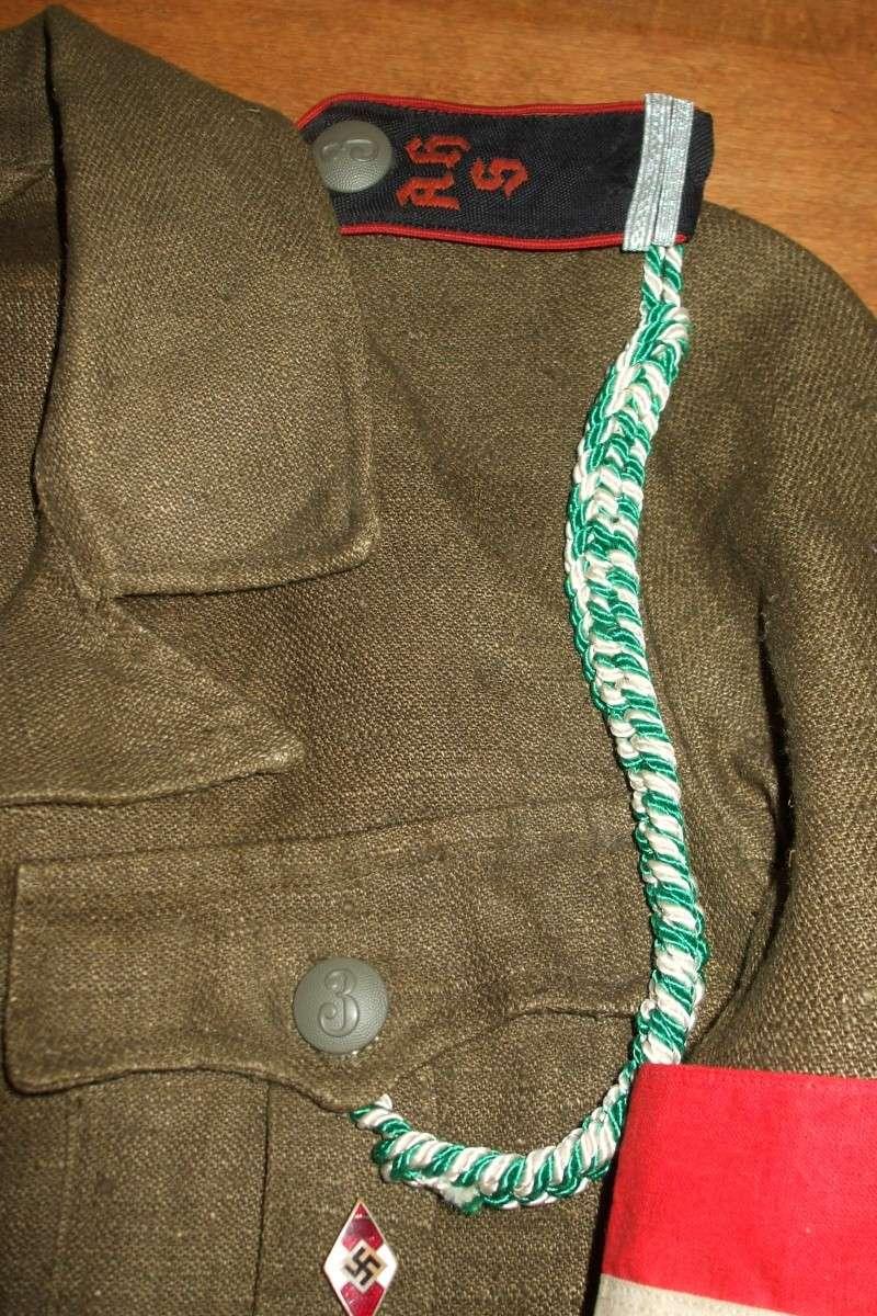 """Drell-Jacke"" d'une ""Adolf Hitler Schule"" (1936-1945) Photo_53"