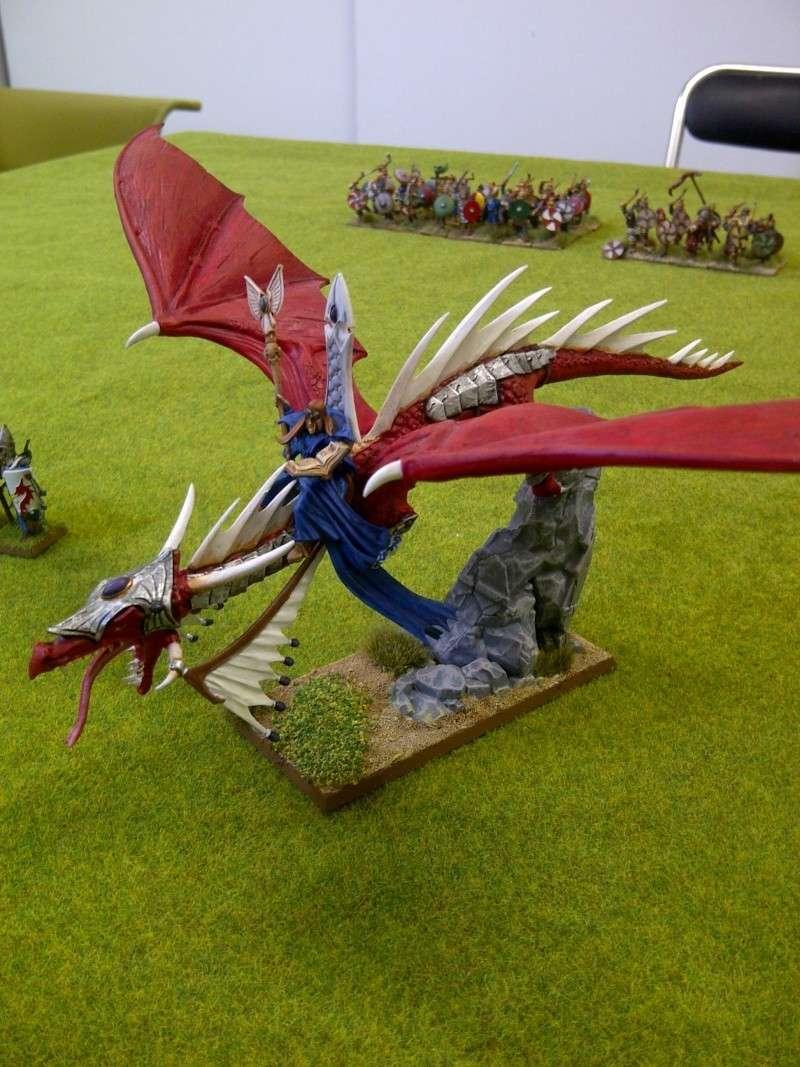 Haut elfes Warhammer Dragon10