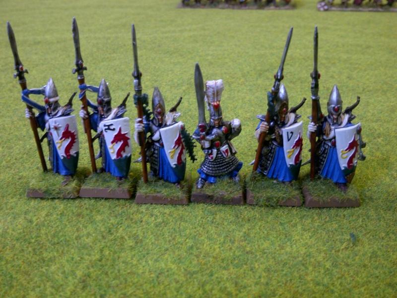 Haut elfes Warhammer Gardes10