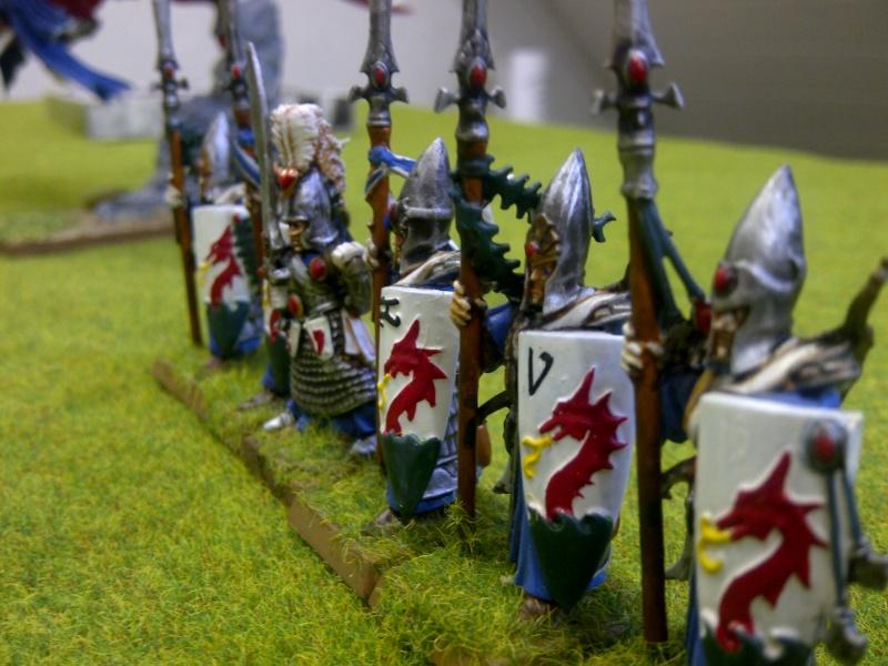Haut elfes Warhammer Gardes11