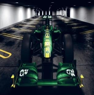 [2011]Présentation Lotus Malaysia F1 team T12810