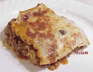 Lasagne au boeuf et aux champignons Lasagn11
