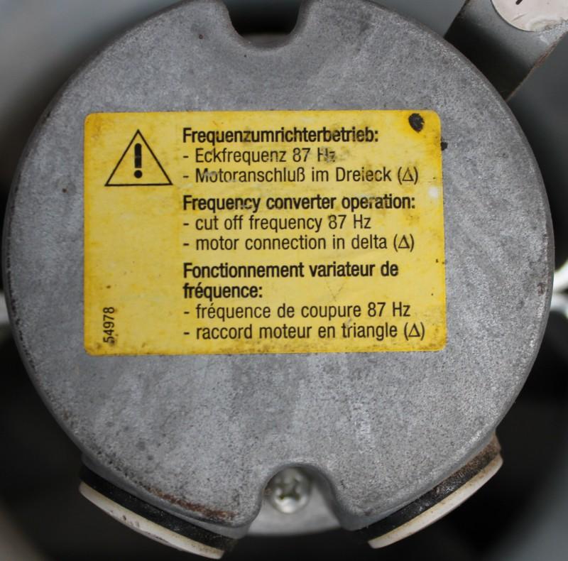 moteur et variateur Ventil11
