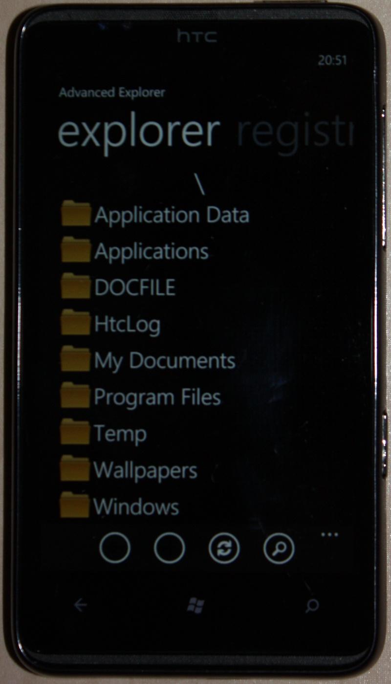 [TUTO]Advanced Explorer : tranférez vos fichiers PC <=> Tel / Modifier le registre 0710