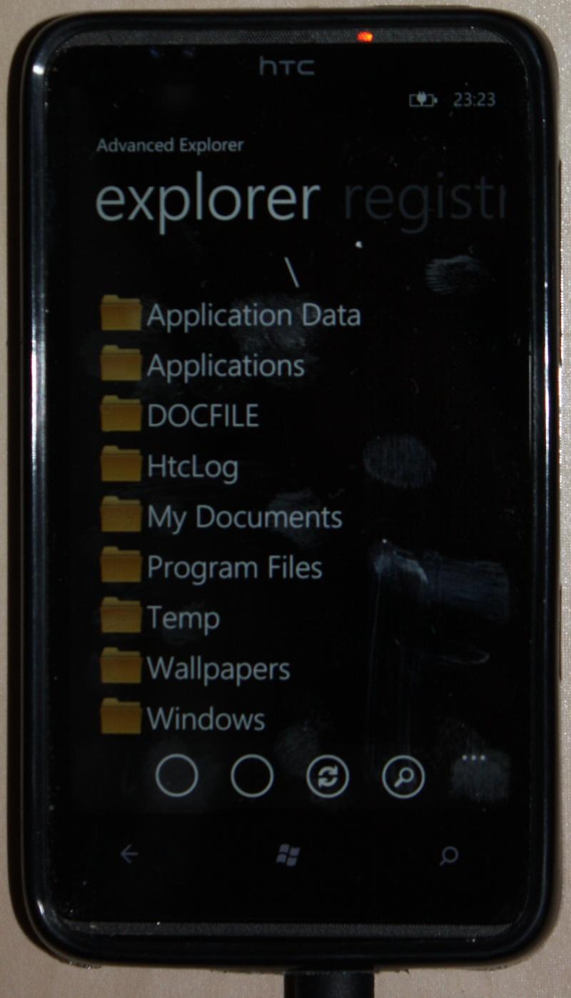 [TUTO]Advanced Explorer : tranférez vos fichiers PC <=> Tel / Modifier le registre 2410