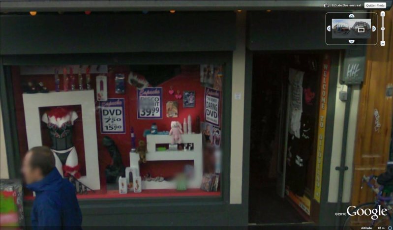 STREET VIEW : les façades de magasins (Monde) Amster11