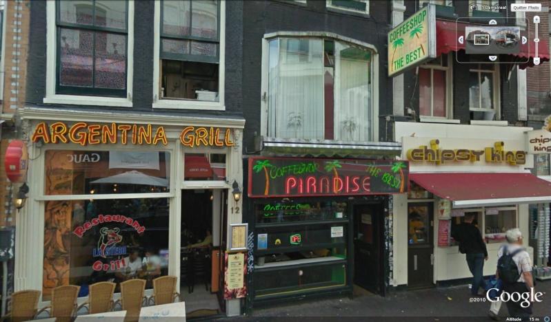 STREET VIEW : les façades de magasins (Monde) Amster14