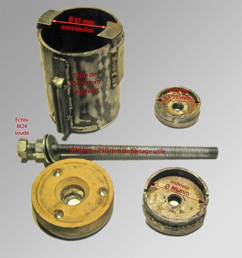 [Loue] pour [E39 525TDS Touring] Extracteur des Silentblocs du Berceau Arrière Cotes10