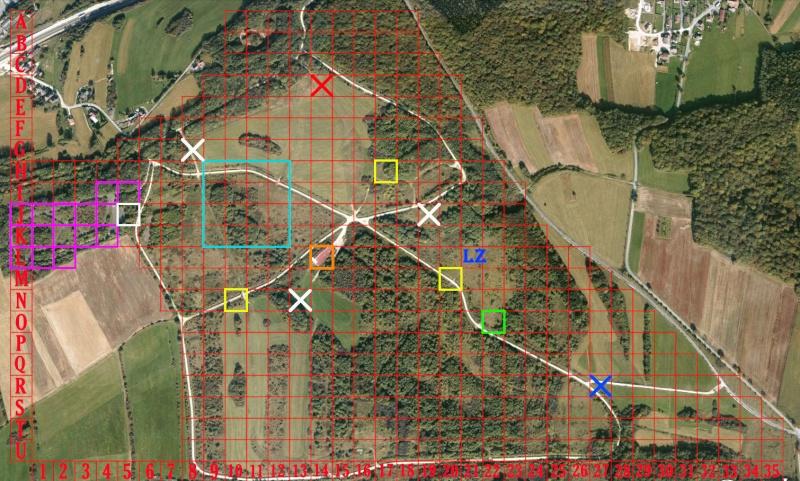 OP sauvetage et infiltration sur l'île de chevremus le 22&23 juin Carte-16