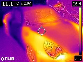 Photos à la caméra thermique ... Flir0211