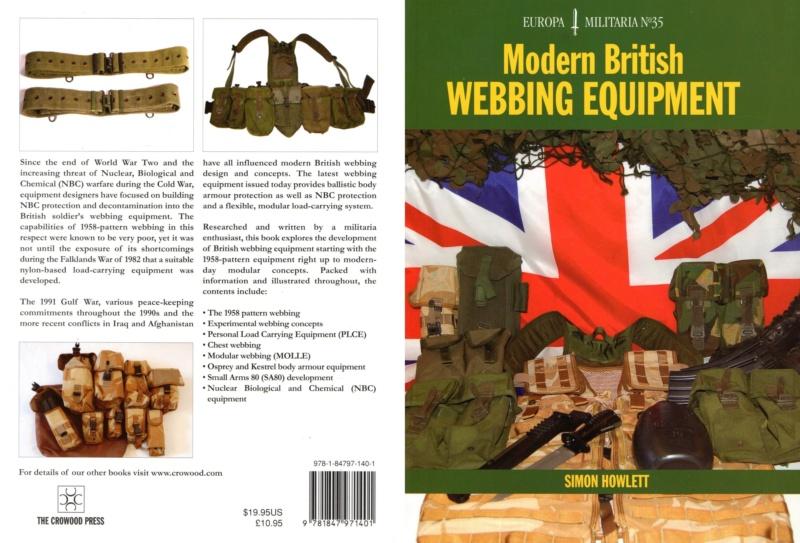 Livrets sur équipement en toile Britannique 35_mod11