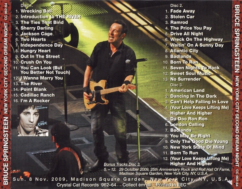 Full album en concert Newyor11