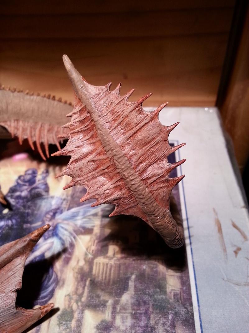 """The Vermithrax Dragon aus Disney´s """"Der Drachentöter"""" von Pegasus Modells 1:32 20130510"""
