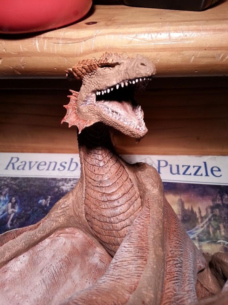 """The Vermithrax Dragon aus Disney´s """"Der Drachentöter"""" von Pegasus Modells 1:32 20130511"""