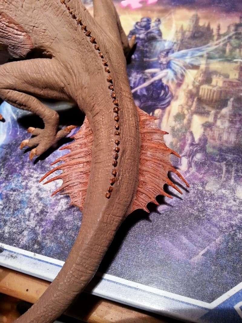 """The Vermithrax Dragon aus Disney´s """"Der Drachentöter"""" von Pegasus Modells 1:32 20130512"""