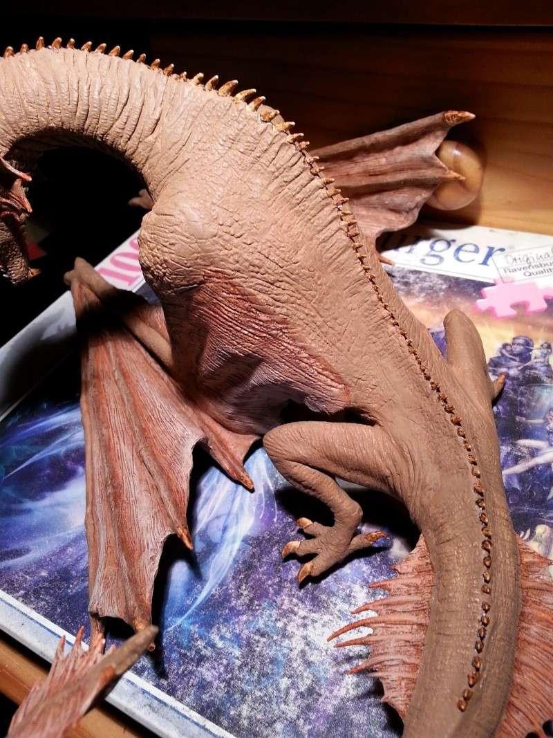 """The Vermithrax Dragon aus Disney´s """"Der Drachentöter"""" von Pegasus Modells 1:32 20130513"""