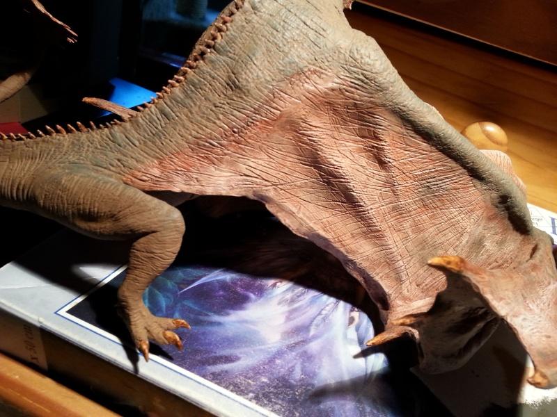 """The Vermithrax Dragon aus Disney´s """"Der Drachentöter"""" von Pegasus Modells 1:32 20130515"""