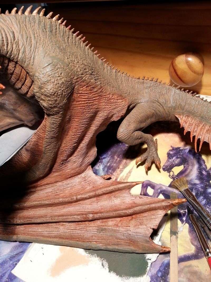 """The Vermithrax Dragon aus Disney´s """"Der Drachentöter"""" von Pegasus Modells 1:32 20130516"""