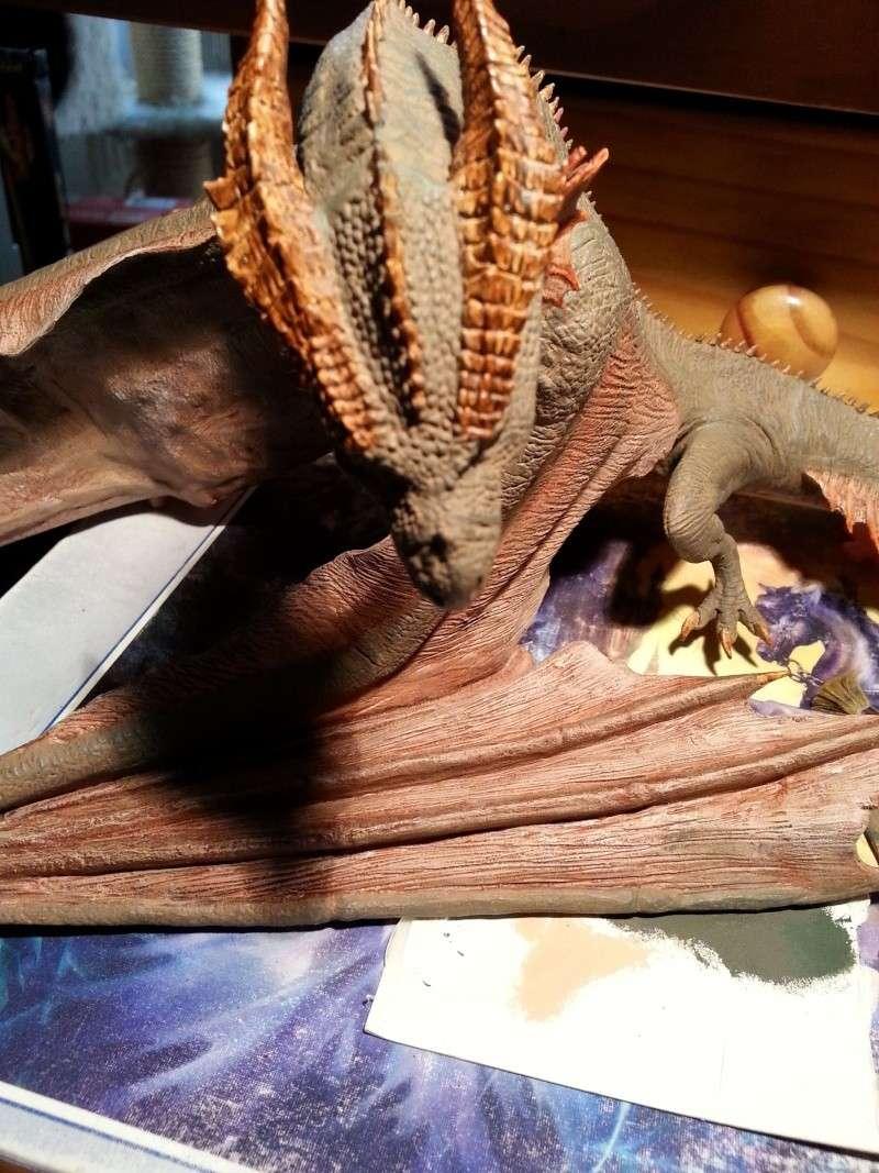 """The Vermithrax Dragon aus Disney´s """"Der Drachentöter"""" von Pegasus Modells 1:32 20130517"""