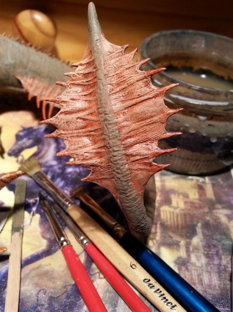 """The Vermithrax Dragon aus Disney´s """"Der Drachentöter"""" von Pegasus Modells 1:32 20130518"""