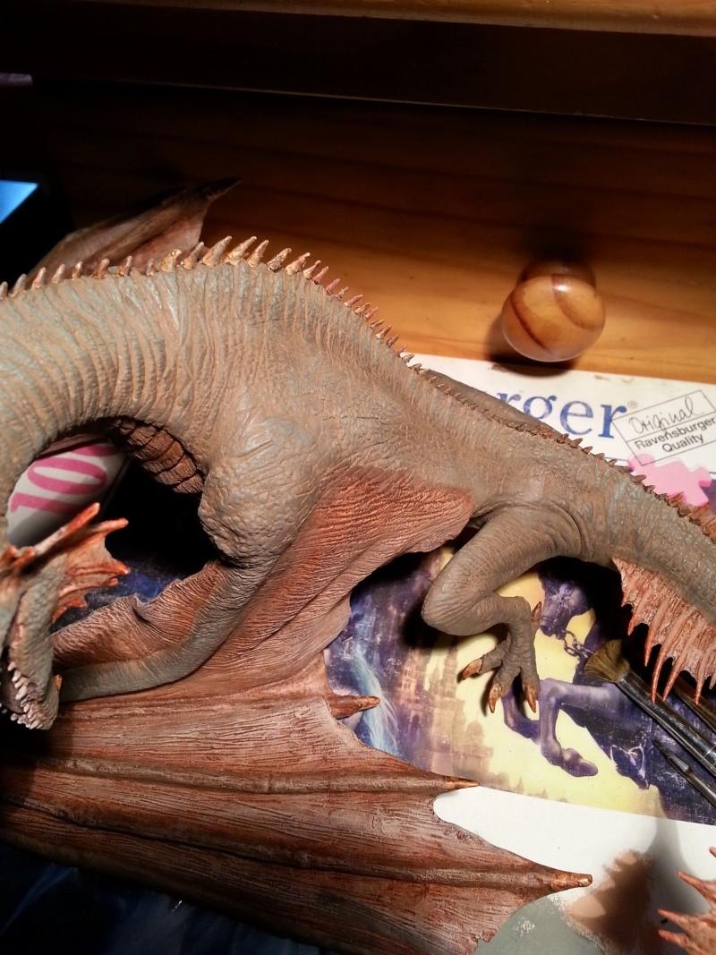 """The Vermithrax Dragon aus Disney´s """"Der Drachentöter"""" von Pegasus Modells 1:32 20130522"""
