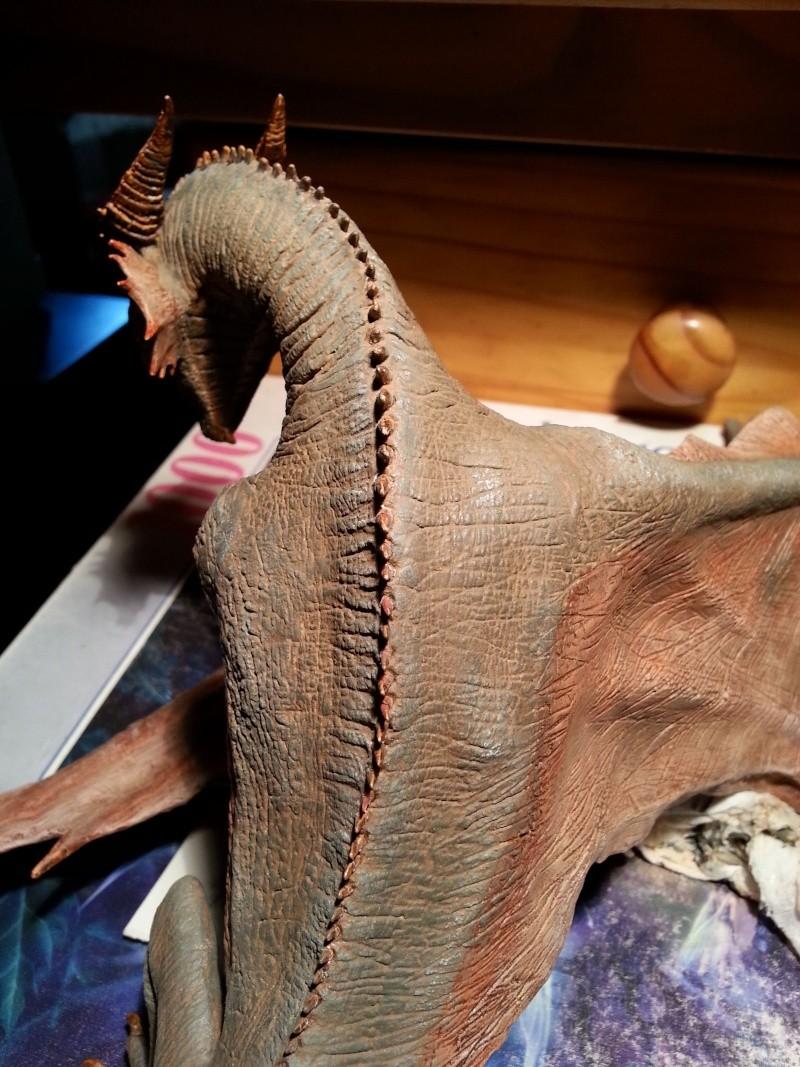 """The Vermithrax Dragon aus Disney´s """"Der Drachentöter"""" von Pegasus Modells 1:32 20130524"""